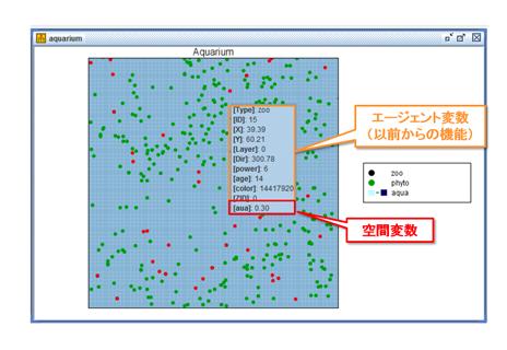 空間変数のツールチップ表示機能